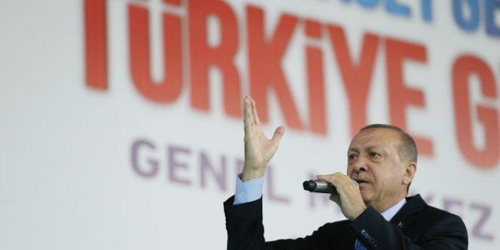 Erdoğan'ın yeni seçim şarkısı ilk kez çalındı