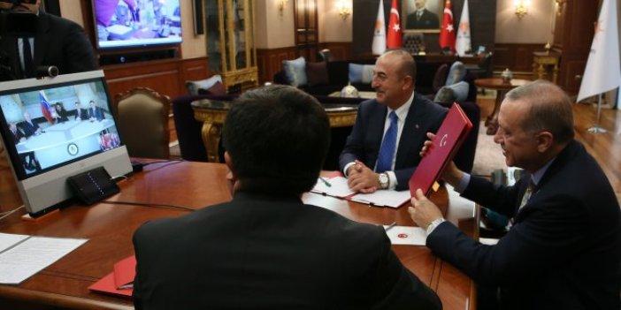 Erdoğan ve Maduro'dan telekonferansla anlaşma
