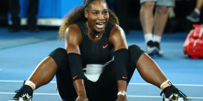 Serena Williams maçtan çekildi