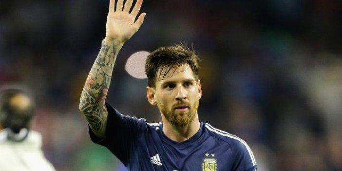 Filistin'den Messi'ye sert tepki