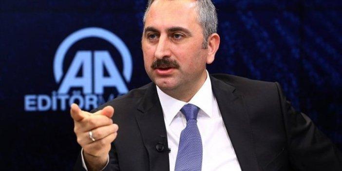 Adalet Bakanı Gül'den flaş FETÖ açıklaması