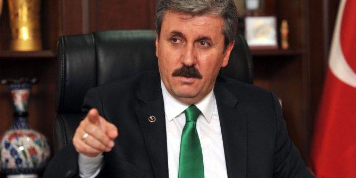 BBP Lideri Destici: 'Apoletini sökeceğim' diyenin ciğerini sökerler