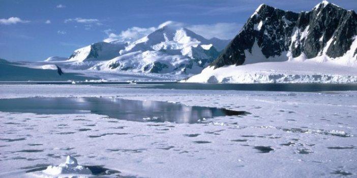 Antartika için kirlilik uyarısı