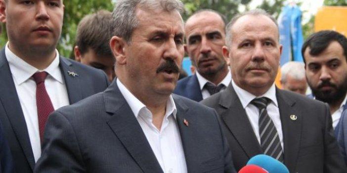 """Destici: """"Kandil'de terörist kalmadı ki"""""""