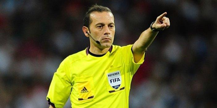 Dünya Kupası'nda yöneteceği ilk maç belli oldu