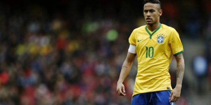 Brezilya'da Neymar şoku