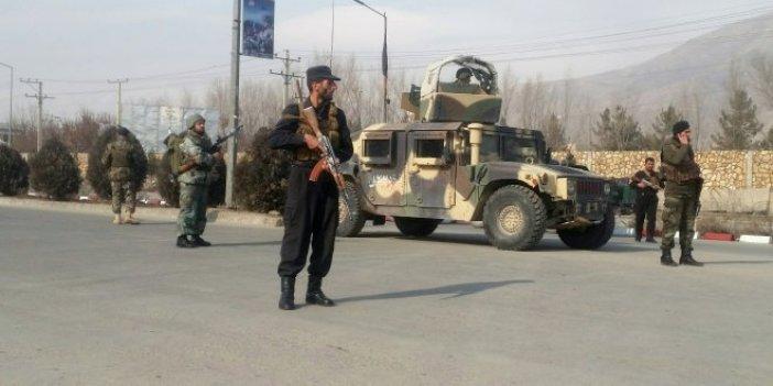 Afganistan'da askeri üsse saldırı