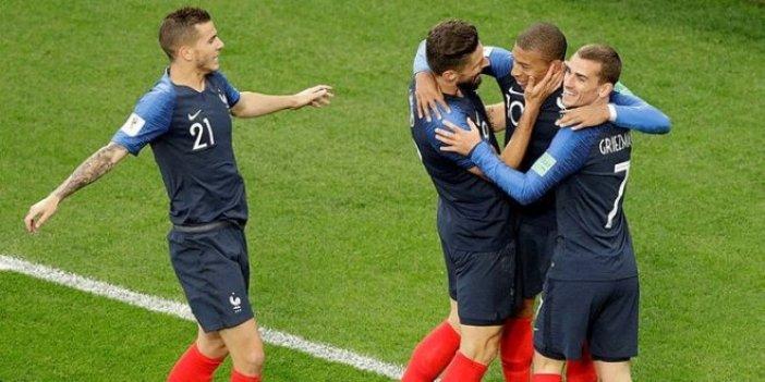 Fransa güle oynaya!