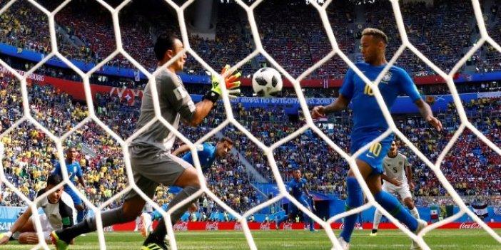 Brezilya son dakikalarda güldü