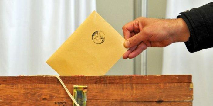 O ilde oylar yeniden sayılıyor