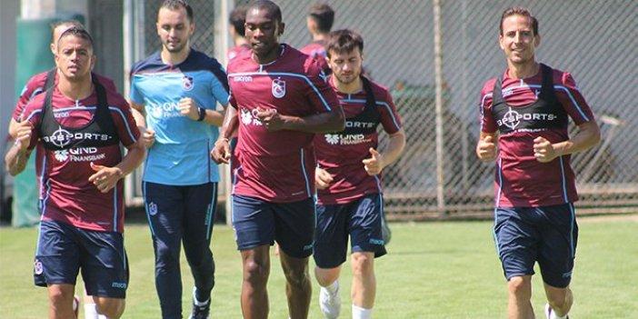 Trabzonspor'da üç futbolcu için noter tespiti