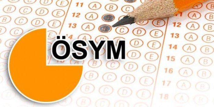 KPSS 'Öğretmenlik Alan Bilgisi Testi' yeniden düzenlendi