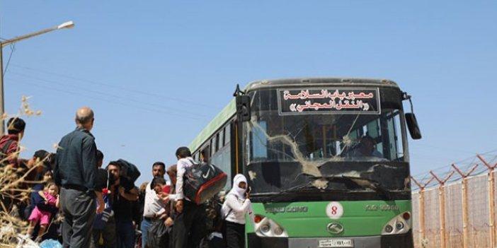Suriyelilerin Türkiye'ye dönüşü sürüyor!
