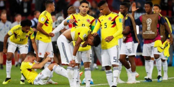 Kolombiyalı futbolculara ölüm tehdidi