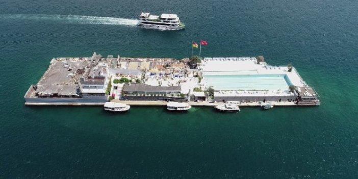 İşte Galatasaray Adası'nın son hali