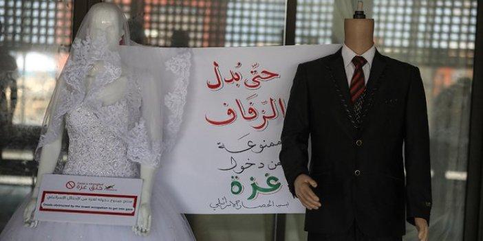 Gazze'ye gelinlik ve biberon yasağı