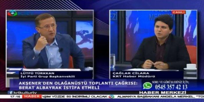 İYİ Partili Lütfü Türkkan'dan 'Berat Albayrak' uyarısı