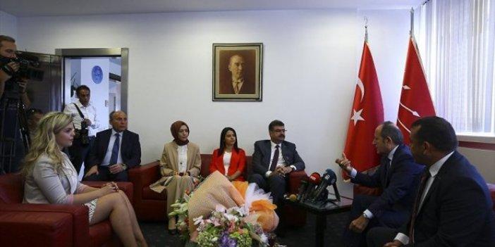 CHP'ye bayram ziyaretleri