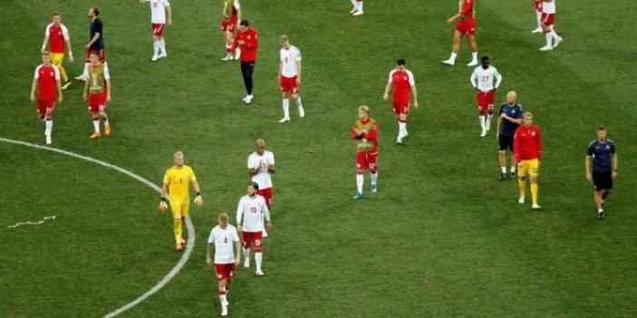 Danimarka'da milli oyuncular kampı terk etti