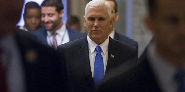 Pence'den 'isimsiz makale' açıklaması