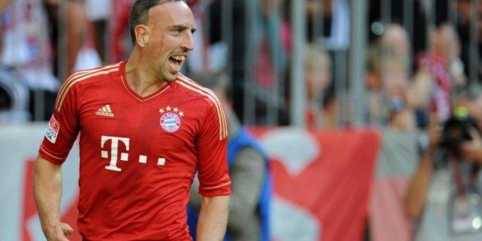 Ribery'den Galatasaray'a tebrik