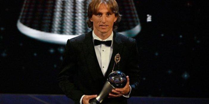 Yılın en iyisi Modric
