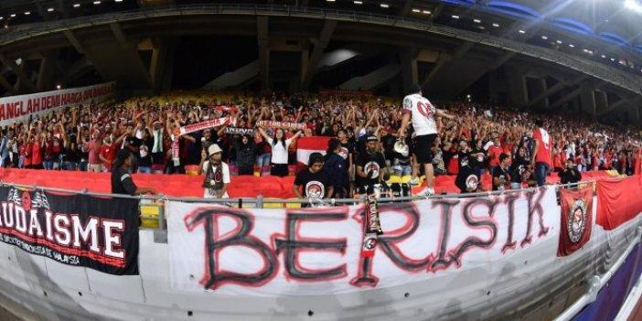 Endonezya'da lig maçları askıya alındı