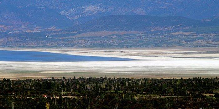 'Burdur Gölü kurursa kanser riski artacak'