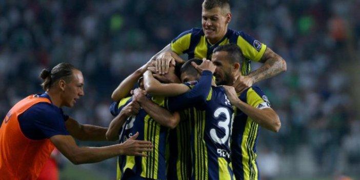 Fenerbahçe'de forvetler sessiz kaldı