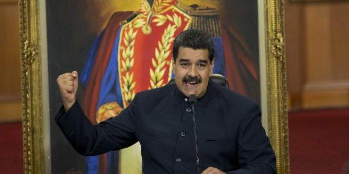 """Maduro: """"Beyaz Saray beni öldürmek istiyor"""""""