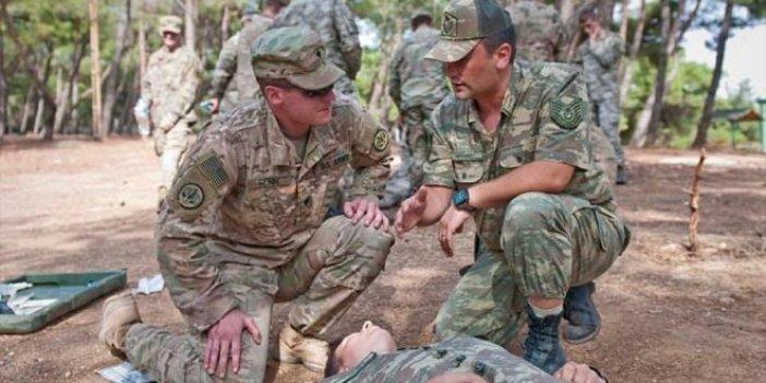 ABD askerleri Gaziantep'te eğitimde