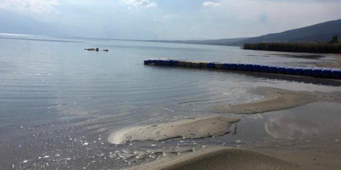 Eğirdir Gölü'nde su seviyesi tedirginlik yarattı