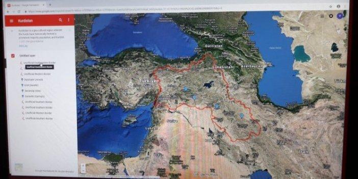 İYİ Parti skandal haritayı Meclis'e taşıdı