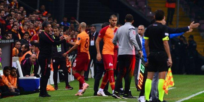 Galatasaray'da zorunlu rotasyon