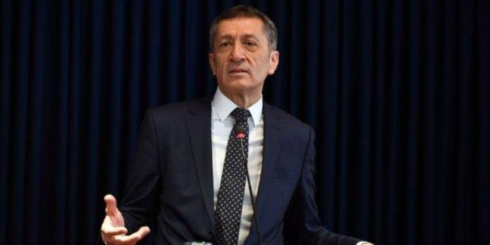 Milli Eğitim Bakanı Ziya Selçuk'tan sözleşmeli öğretmenlik açıklaması