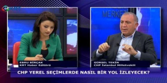 CHP'li Gürsel Tekin'den CHP'li belediyelere eleştiri