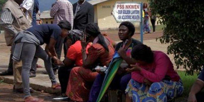 Kamerun'da kaçırılan 78 öğrenci serbest