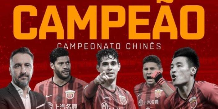 Vitor Pereira Çin Ligi'nin şampiyonu oldu!