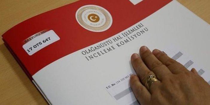 OHAL Komisyonu'ndan göreve iade açıklaması