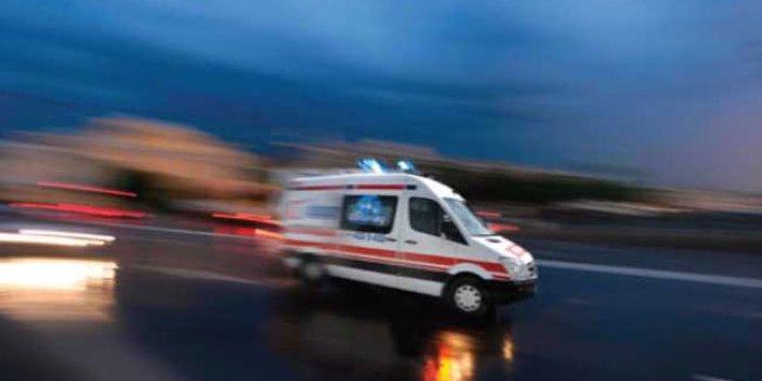 Suriye'ye hasta bırakan ambulansta esrar ele geçirildi
