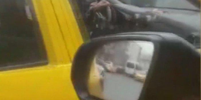 İstanbul'da 'UBER'ci-taksici gerginliği sürüyor