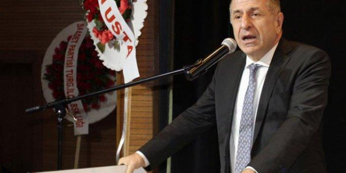 """Ümit Özdağ: """"Erdoğan PKK ile Türk üreticisi aynı kefeye koydu"""""""