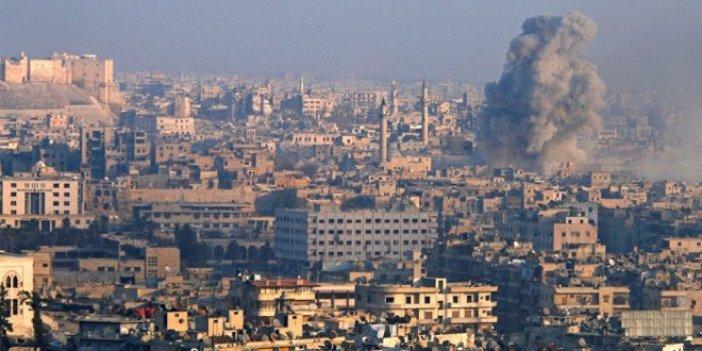 Halep'te kimyasal silahla saldırı iddiası