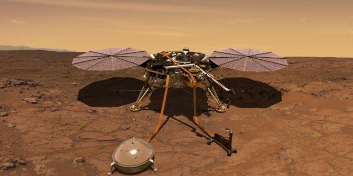 Mars keşif aracı InSight, kızıl gezegene indi