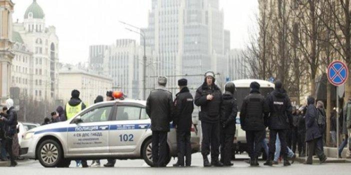 Rusya'da canlı bomba alarmı
