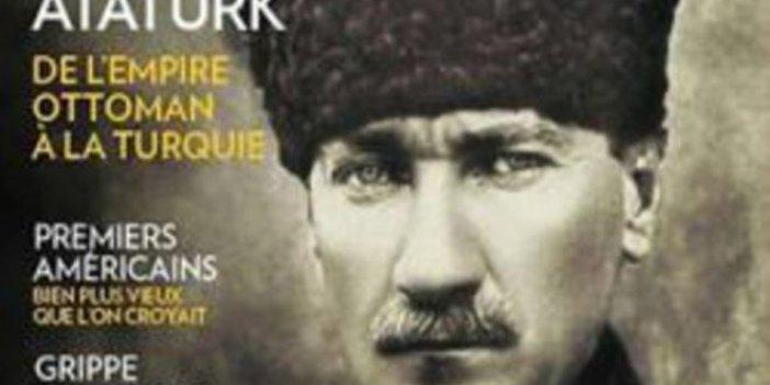 Ünlü dergi, kapağına Atatürk'ü taşıdı