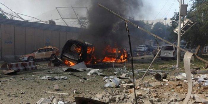 Afganistan'da bombalı araç hazırlanırken patladı