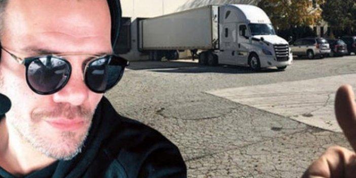 Oyuncu Tolga Karel TIR şoförü oldu