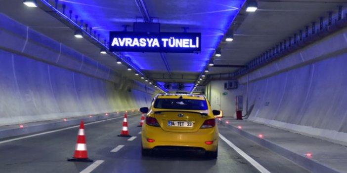 İstanbul'da Avrasya Tüneli'nde kaza