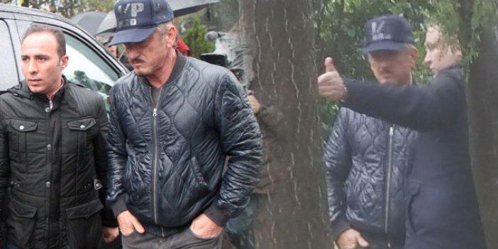 Ünlü oyuncu Sean Penn Kaşıkçı cinayeti için İstanbul'da çekim yaptı